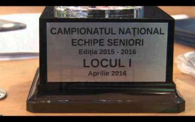 Finala Campionatului National pe Echipe 2016 – Lemne Red+Black