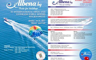 TT Albena Octombrie 2017